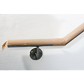 Beschermend papier, zelfklevend, 50 g/m², L 50 m x B 75 mm, bruin