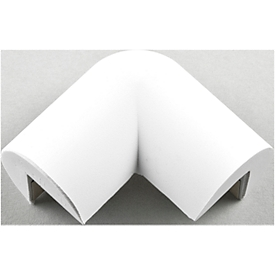 Beschermhoek, 2-benig, wit