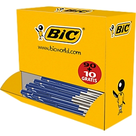 BIC balpennen M10 Value Pack blauw 90+10 GRATIS