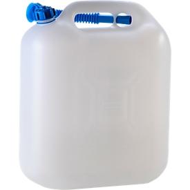 Bidón para agua ECO, con tubo, 20 l, natural