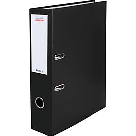 Biella Bundesordner® A4 70 mm, schwarz, 20 Stück