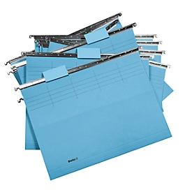 Biella Hängemappen-Set Original, A4 25 Stück, blau