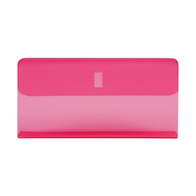 Biella Klarsichthülse für Hängemappen, rosa, 25 Stück