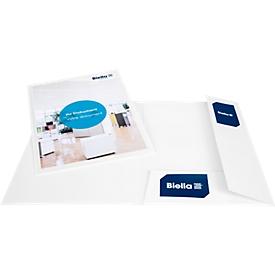 Biella Offert- und Präsentationsmappe Pearl A4, mit Sichttasche