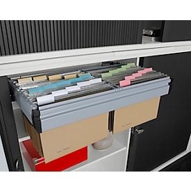 Bloqueo de apertura, para armario de persiana transversal, para 2 alturas de archivo