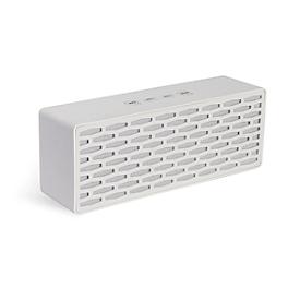 Bluetooth Lautsprecher, 12 W, Micro USB, Micro SD, Radio und Freisprechfunktion, weiß + Werbedruck