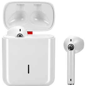 Bluetooth Stereo Headset Felixx TWS Aero, BT 5.0, Musik & Telefonie bis 6h, inkl. Ladebox 500mAH