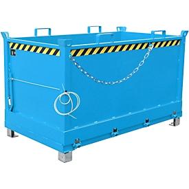Bodemklepcontainer FB 1500, blauw