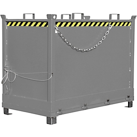 Bodemklepcontainer FB 2000, grijs