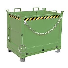 Bodemklepcontainer FB 750, groen