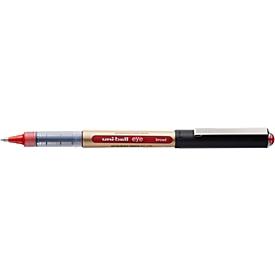Bolígrafo Uni-ball ojo, ancho 0,65 mm, rojo