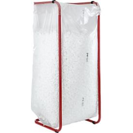 Bolsas de basura de alta calidad, material LDPE, grosor 60 my, 400 litros, 100 unidades, transparente