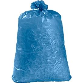 Bolsas de basura de plástico, 100 unidades, 120 l