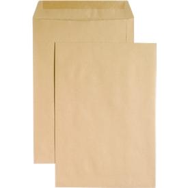 Bolsas de correo, B5, engomadas, sin ventana, 500 unidades