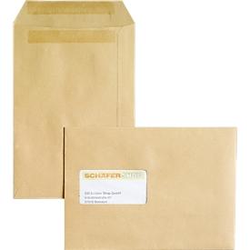 Bolsas de correo, C5, autoadhesivas, con ventana, 500 piezas