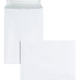 Bolsas de correo, DIN C5, sin ventana, adhesivas, 10 piezas