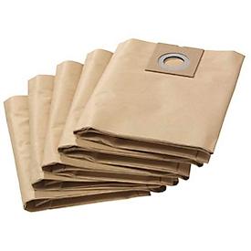 Bolsas de filtro de papel para aspirador seco/húmedo KÄRCHER® 27/1 ADV, 5 unidades