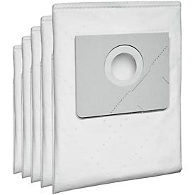 Bolsas de filtro de papel para aspirador seco/húmedo KÄRCHER® NT 35/1 TACT TE, 5 unidades