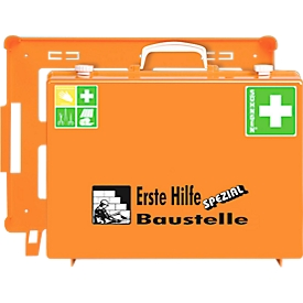 Botiquín de primeros auxilios portátil, para obras de construcción