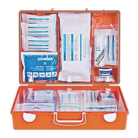 Botiquín de primeros auxilios portátil, para su administración