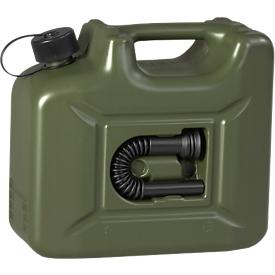 Brandstofjerrycan PROFI, olijfgroen, 10 liter