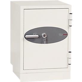 Brandwerende kluis DS 2002, B 470 x D 470 H 600 mm, sleutelslot