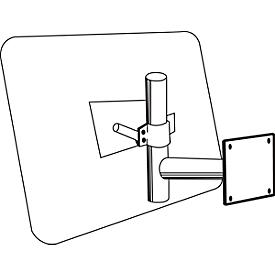 Brazo de pared, An 400 x Al 500mm, para todos los tamaños de espejo