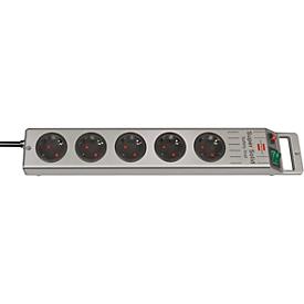 brennenstuhl® veiligheids-stekkerdoos standaard, 5-voudig