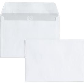 Briefumschläge, DIN C6, ohne Fenster, haftklebend, 25 Stück