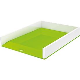 Brievenbak WOW Dual Leitz ®, wit/groen