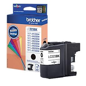 Brother inktcartridge LC-223BK, zwart