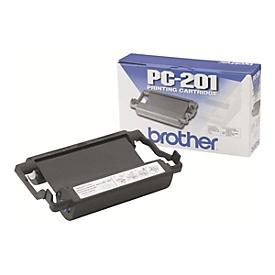 Brother PC201 - 1 - Schwarz - Farbband