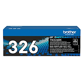 Brother Toner TN-326BK, schwarz, original