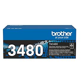 Brother Toner TN-3480, schwarz, original