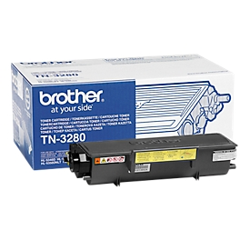 Brother tonercassette TN-3280, zwart