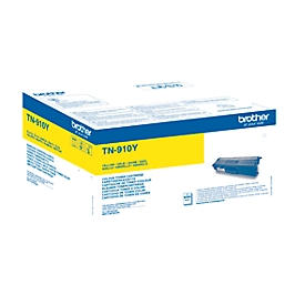 Brother tonercassette TN-910Y, geel