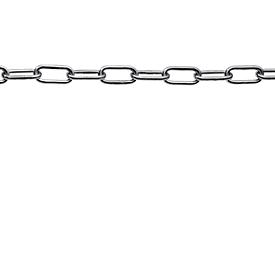 Cadena de acero inoxidable, 5 mm, soldada