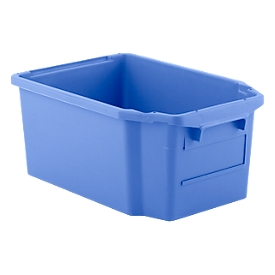 Caja apilable por giro FB 600, 40 l, azul