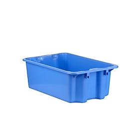 Caja apilable por giro FB 601, 30l, azul