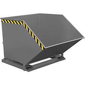 Caja basculante KK 1000, gris (RAL 7005)