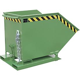 Caja basculante KK 600, verde (RAL 6011)