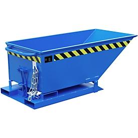 Caja basculante KN 250, azul (RAL 5012)