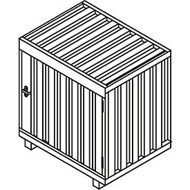 Caja de bombonas de gas GB 1