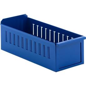 Caja de estantería RK 386, acero, para estanterías de P 400mm