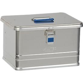 Caja de transporte Alutec COMFORT 30, aluminio, 30l, L 430 x An 335 x Al 273mm, tapa robusta