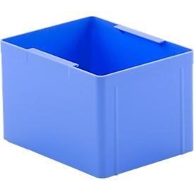 Caja insertable EK 112, azul, PS, 20 unidades