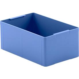 Caja insertable EK 113, azul, PS, 10 unidades