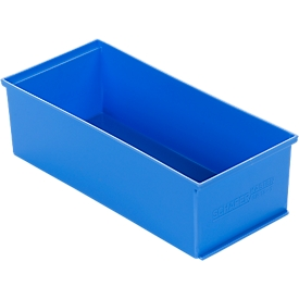 Caja insertable EK 14-3, azul, PP, 12 unidades