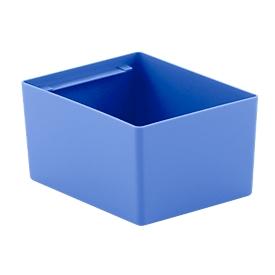 Caja insertable EK 3021, PP, azul, 20 unidades