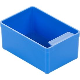 Caja insertable EK 352, PS, 50 unidades, azul